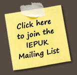 Join the IEPUK mailing list